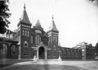 Nationalmuseum (heute Arts and Industries Building); 1885